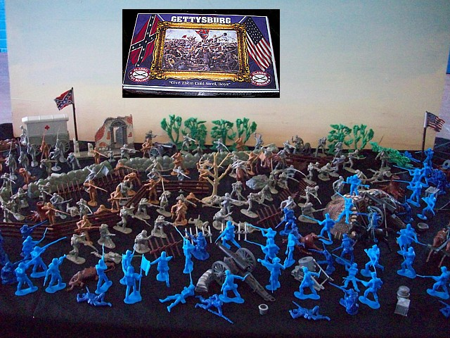Battle of Gettysburg --- 354 pieces ---$349.95 plus (s&h $35) <FONT COLOR=#CC0000>(54mm) </FONT>