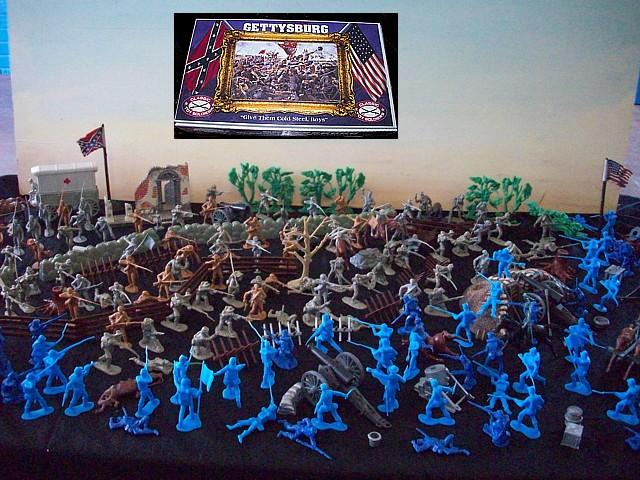 Battle of Gettysburg- 354 pieces ,Artist box,$349.95 plus (s&h $35) <FONT COLOR=#CC0000>(54mm) </FONT>
