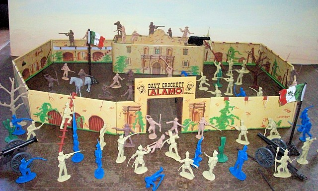 Alamo Playset -- 105 pieces (s&h $20) <FONT COLOR=#CC0000>(54mm) </FONT>