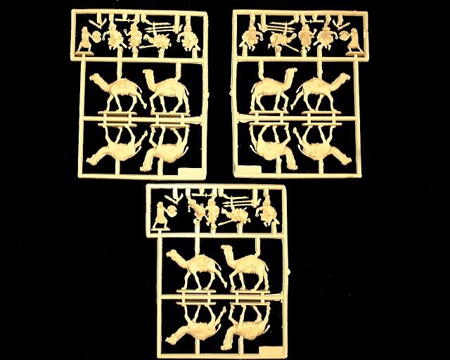 Hadendowa Camelry -- 42 pieces (8208) <FONT COLOR=#CC0000>(25mm) </FONT>