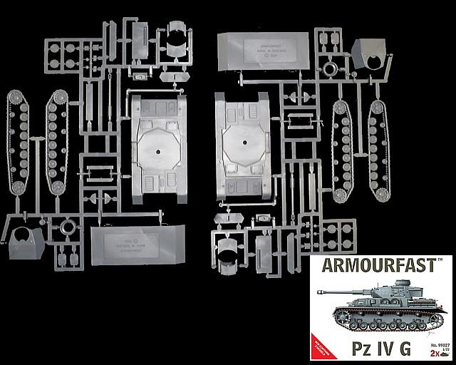 German Panzer IV G Tanks (x2)  (99027)  <font color=#CC0000>(25mm) </FONT>