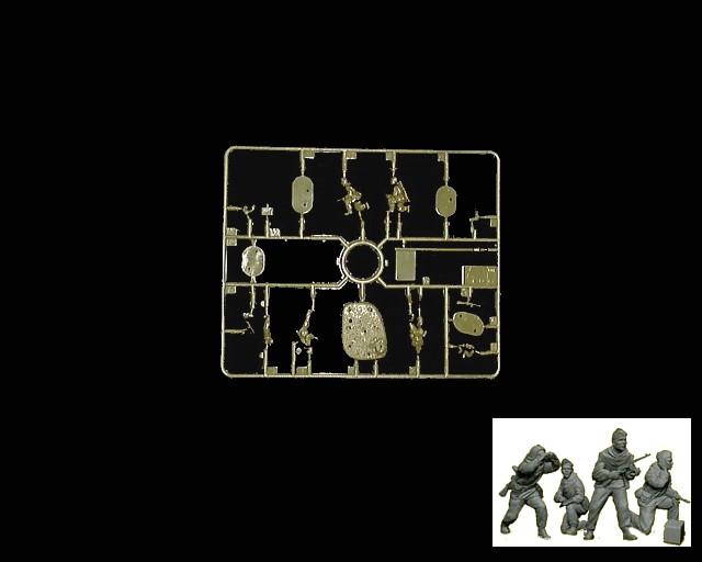 Russian Recon Team -- 15 pieces (6137) <FONT COLOR=#CC0000>(54mm) </FONT>