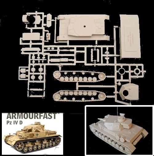 German Panzer IV D Tanks (x2)  (99028) <FONT COLOR=#CC0000>(25mm) </FONT>