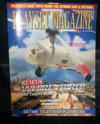 Plasyset magazine #62 Marx Disney playhouse,Fort Dearborn+ Remco Whirlybird