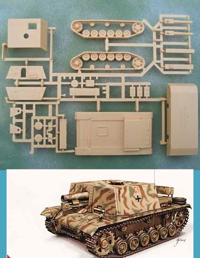 German Stug IG 33B Tank (x2)  (99029) <FONT COLOR=#CC0000>(25mm) </FONT>
