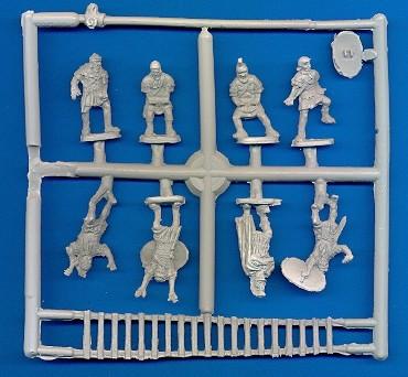 Roman Siege Troops -- 33 pieces (YKR-18) <FONT COLOR=#CC0000>(25mm) </FONT>