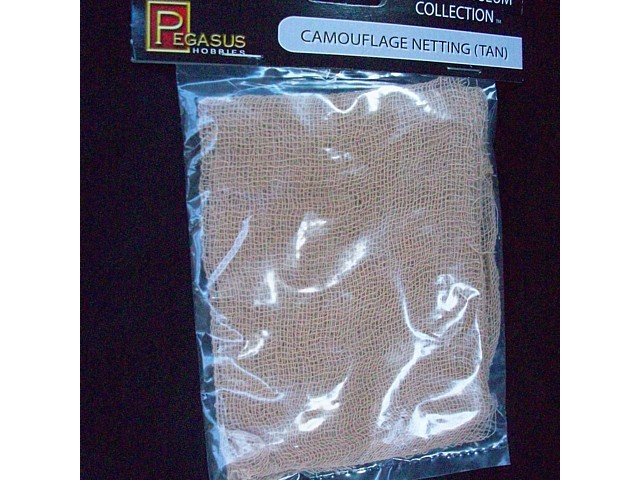 Camouflage Netting (tan) (5192) <FONT COLOR=#CC0000>(25mm/54mm) </FONT>