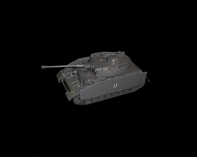 German Panzer IV w/side armour <FONT COLOR=#CC0000>(54mm) </FONT>
