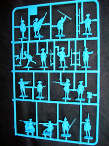 American infantry (1776) -- 48 pieces (6060) (25mm)
