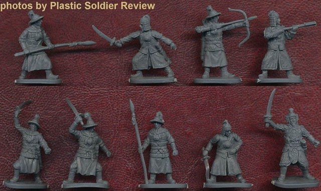 Chinese Ming Dynasty Infantry -- 30 pieces (032) <FONT COLOR=#CC0000>(25mm) </FONT>