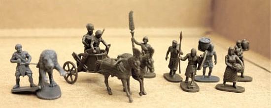 Pharaoh�s Chariots & Biblical Peasants  (042) <FONT COLOR=#CC0000>(25mm) </FONT>