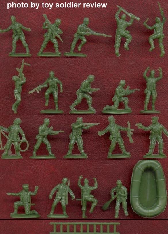 British Commandos -- 46 pieces (2530) <FONT COLOR=#CC0000>(25mm) </FONT>