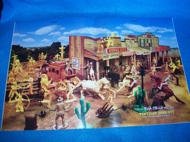 Playset magazine#66 with coverage of Wyatt Earp Marx playsets