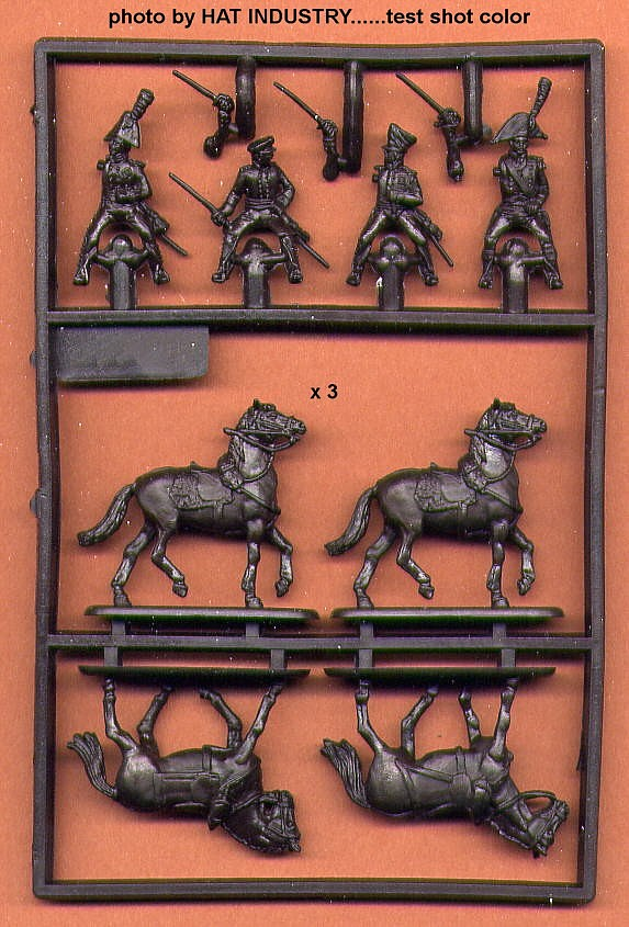 Napoleonic Mounted Officers -- 33 pieces (8279) <FONT COLOR=#CC0000>(25mm) </FONT>