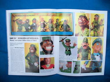 Playset Magazine #67 the Invaders playset +Marx figures