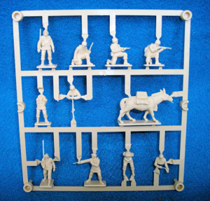 U.S. Mountain Troops, WWII (25mm) (HO) 27 pieces (AP 031)