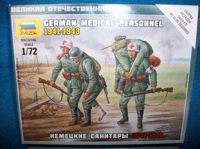 German Medical Personnel 1941-43 (6143) (25mm) (HO)