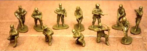 Caesar Counter Terroist Elite Forces--30 pieces (25mm)-(H0)