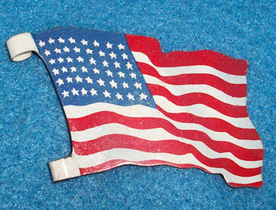 Marx original tin litho U.S.WWII 48 star flag