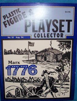 PFPC Magazine iossue#32 Marx Revolutionary War Tremain,Buck Rogers, Alamo