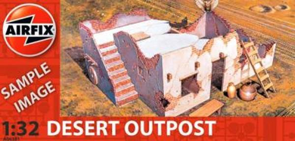 Desert Outpost 54mm--1:32 scale (6381)