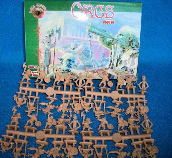 Orcs Set #3-- 40 figures (Pal72003) 1:72 scale