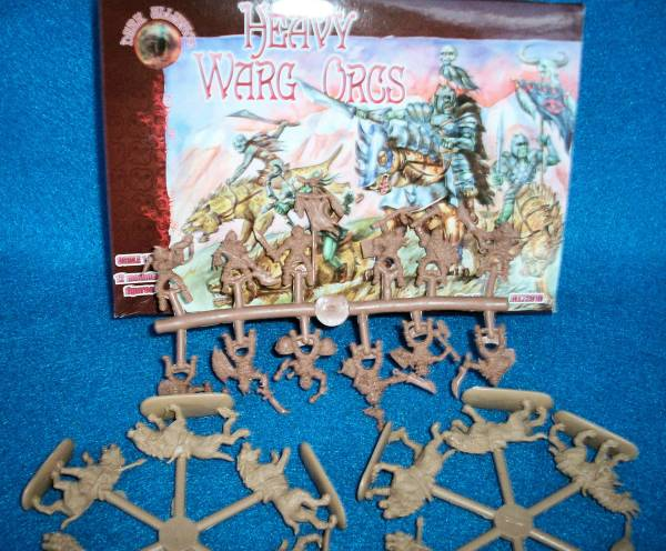 Heavy Warg Orcs Set #2 12 Mounted (Pal72010) 1:72 scale