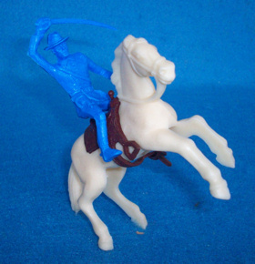 TIMMEE TOY mounted Yank (original) w/horse and saddle   <font color=#CC0000>(60mm) </FONT>