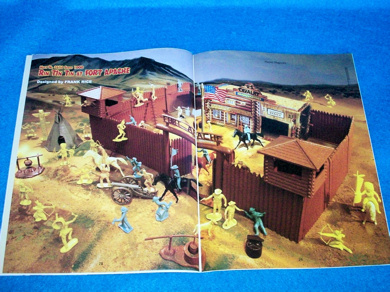 Playset Magazine #72 Rin Tin Tin at Fort Apache +PX street front