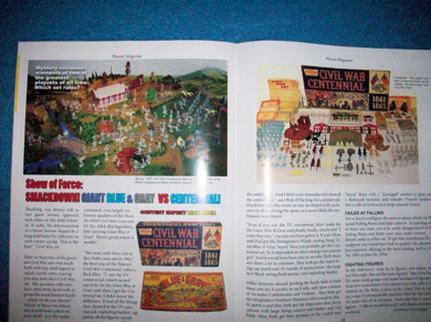 Playset Magazine #73 the Giant Toy Co 1960's,+ Marx Giant + Centennial playsets,+ Shady Rest Motel
