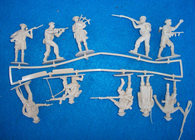 Revell 1/35th WWII Scottish Infatry-8th army (02610) tan