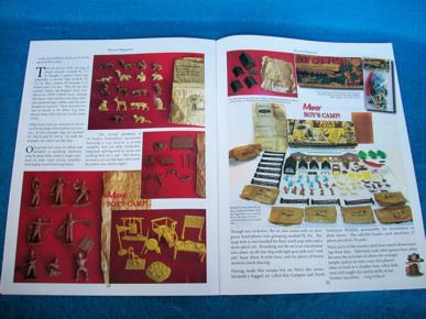 Playset Magazine #74 Marx Boy's Camp+ Giant HO figures