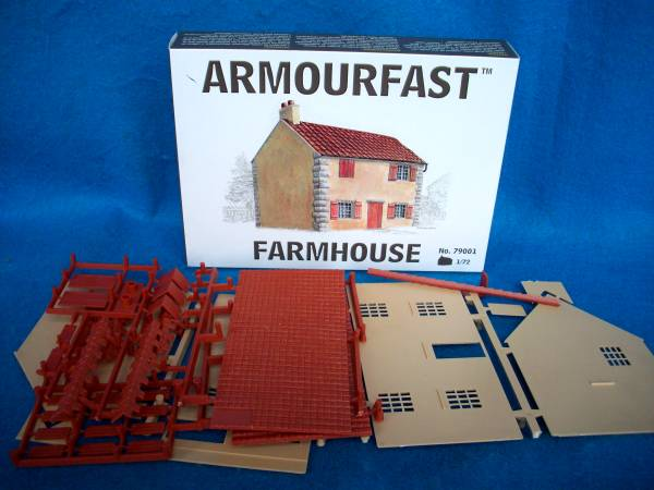 Armorfast Two Story Farm House 1/72 Scale (79001)