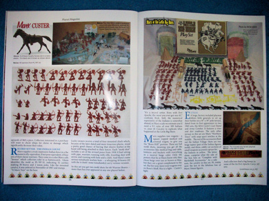 Playset Magazine #75 Marx Battle of the Little Big Horn plus more