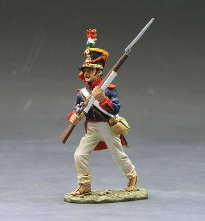 King & Country RTA010 Mexican soldier running,1/30,metal