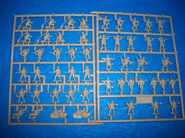 Emhar WWI American Doughboys 1:72 scale 50 figures (7209)