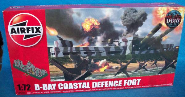 Airfix WWII D-Day Costal Defense Fort 1:72 scale (25mm) (5702)