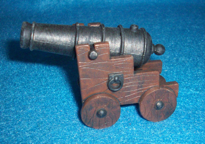 Naval cannon 18th century by Papo, 1/32