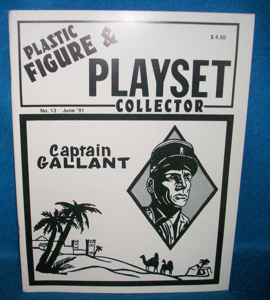 issue #13  ''MARX Captain Gallant, Custer's Last Stand (I) & Little Big Horn''