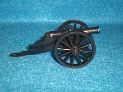 6 pounder Field Cannon (black) <font color=#CC0000>(54mm) </FONT>