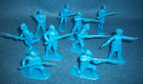Details about  /Figures Model American Civil War Union Army Soldiers 1//32 54mm 8 pcs Handmade
