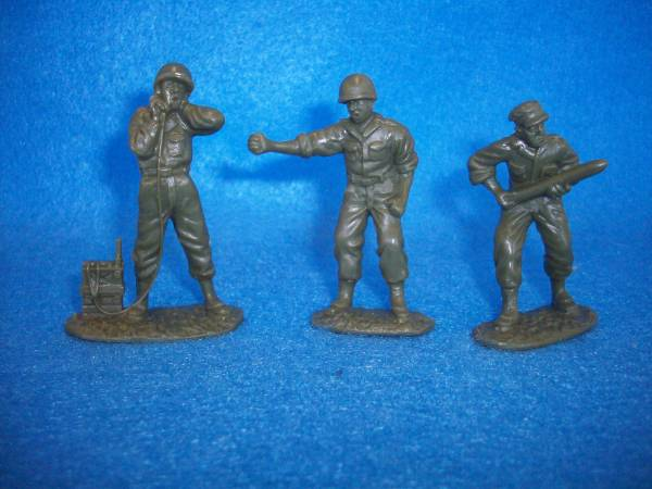 54MM 3 in 3 poses Classic Toy Soldiers German Artillery crew figures