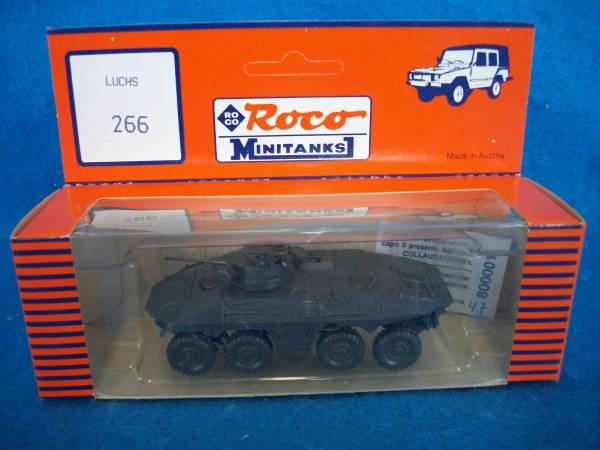 Roco Minitank #266  Luchs scout tank,1/87