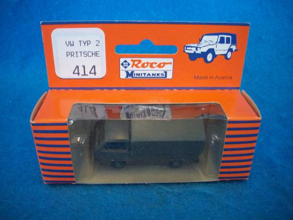 Roco Minitanks #414 VW typ 2 Pritche cargo truck, 1/87th