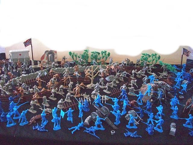 Battle of Gettysburg---354 pieces----(s&h $35.00)