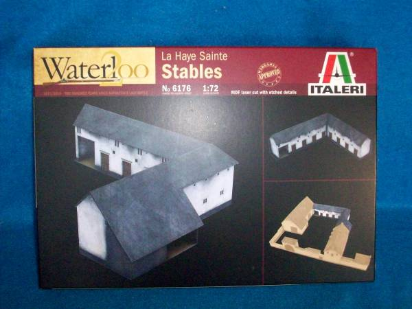 Italeri - Waterloo 200th Anniversary add on Stables (25mm) (6176)