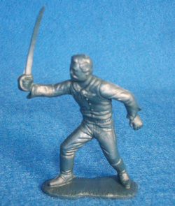 Marx Rin Tin Tin Fort Apache 60mm US cavalry with saber (original)
