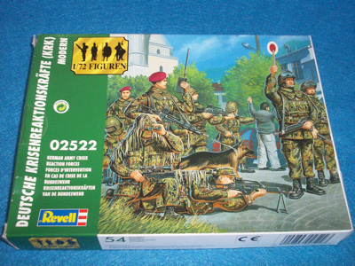 Revell 1/72 German Army Crisis Reaction Force (02522) HO