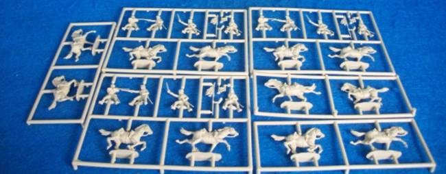 Waterloo English Civil War Cromwell's Cavalry 24 pieces 1:72 scale (APO33)