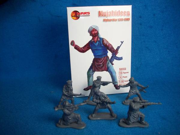 Mars Mujahideen Afghan War 1979-89 (54MM) 18 in 6 poses